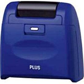 プラス PLUS 個人情報保護スタンプ ローラーケシポンワイド(ブルー) IS-510CM BL[IS510CMBL]