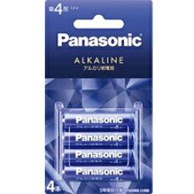 パナソニック Panasonic LR03LJA/4B LR03LJA/4B 単4電池 バイオレットブルー [4本 /アルカリ][LR03LJA4B] panasonic【rb_pcp】