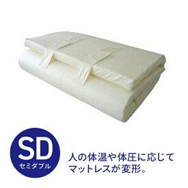 生毛工房 UMO KOBO ドリームフィット セミダブルサイズ(120×200×7cm)【日本製】