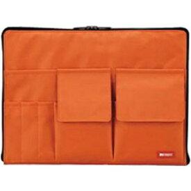 リヒトラブ バッグ イン バッグ A4サイズ A-7554-4 橙[A75544]