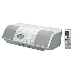 【送料無料】 ケンウッド CDラジオ(ラジオ+SD+USBメモリー+CD)(ホワイト) CLX-30-W[CLX30W]