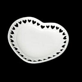 タミヤ TAMIYA ミニチュア食器 ハートのお皿(白・70ミリ)