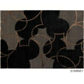 スミノエ SUMINOE ラグ パールライン(100×140cm/ブラック)