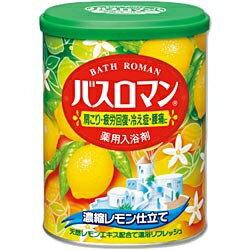 アース製薬 バスロマン 濃縮レモン仕立て 850g〔入浴剤〕