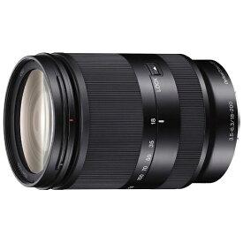 ソニー SONY カメラレンズ E 18-200mm F3.5-6.3 OSS LE APS-C用 ブラック SEL18200LE [ソニーE /ズームレンズ][SEL18200LE]