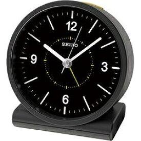 セイコー SEIKO 目覚まし時計 【スタンダード】 黒 KR328K [アナログ /電波自動受信機能有]