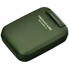 ハクバ HAKUBA SD/microSD用 ポータブルメディアケースS アーミーグリーン DMC-20SSDGR[DMC20SSDGR]