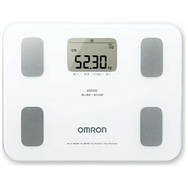 オムロン 体重体組成計 「カラダスキャン」 HBF-251-W ホワイト[HBF251W]