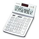 カシオ デザイン電卓 (12桁) JF-Z200WEN(ホワイト)