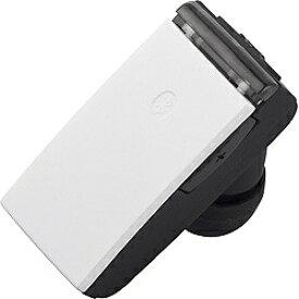 BUFFALO バッファロー スマートフォン対応[Bluetooth4.0] 片耳ヘッドセット USB充電ケーブル付 (ホワイト) BSHSBE23WH[BSHSBE23WH]