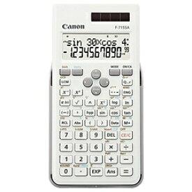 キヤノン CANON 関数電卓 ホワイト F-715SA-WH [10桁][F715SAWH]