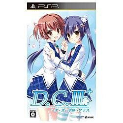 【送料無料】 角川ゲームス D.C.III Plus 〜ダ・カーポIII プラス〜 通常版【PSPゲームソフト】