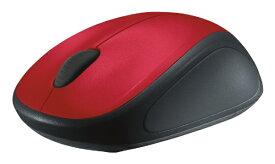 ロジクール M235rRD マウス Wireless Mouse レッド [光学式 /3ボタン /USB /無線(ワイヤレス)][M235RRD]
