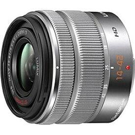 パナソニック Panasonic カメラレンズ LUMIX G VARIO 14-42mm/F3.5-5.6 II ASPH./MEGA O.I.S. LUMIX(ルミックス) シルバー H-FS1442A-S [マイクロフォーサーズ /ズームレンズ][HFS1442AS]