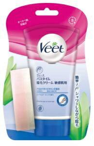 シービック CBIC Veet(ヴィート) バスタイム除毛クリーム 敏感肌用 150g 〔脱毛・除毛クリーム〕