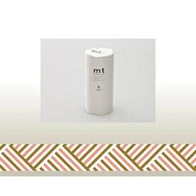 カモ井加工紙 KAMOI mt マスキングテープ・8コセット(コーナー・ピーチ) MT08D175