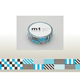 カモ井加工紙 KAMOI mt マスキングテープ(ミックス・ブルー) MT01D122