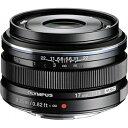 【送料無料】 オリンパス 交換レンズ M.ZUIKO DIGITAL 17mm F1.8【マイクロフォーサーズマウント】(ブラック)[17MMF1.8BLK]