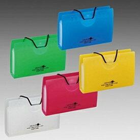 リヒトラブ LIHIT LAB. [収納用品] AQUA DROPs ポイントカードホルダー (10枚収納タイプ・黄緑) A-5002-6[A50026]