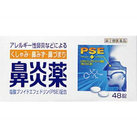 【第(2)類医薬品】 鼻炎薬Aクニヒロ(48錠)〔鼻炎薬〕皇漢堂製薬