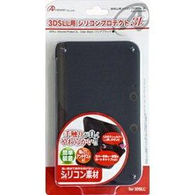 アンサー Answer 3DSLL用 シリコンプロテクト3L(クリアブラック)【3DS LL】