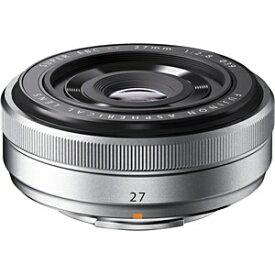 富士フイルム FUJIFILM カメラレンズ XF27mmF2.8 FUJINON(フジノン) シルバー [FUJIFILM X /単焦点レンズ][FXF27MMF2.8S]