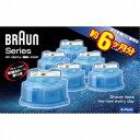 ブラウン クリーン&リニューシステム専用洗浄液カートリッジ(6個入) CCR6-CR[CCR6]