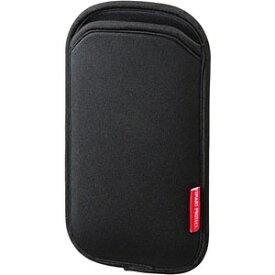 サンワサプライ SANWA SUPPLY 5インチスマートフォン用[幅 75mm] マルチスマートフォンケース (ブラック) PDA-SPC9BK[PDASPC9BK]
