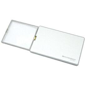 エッシェンバッハ ESCHENBACH LEDライト付カード型ルーペ「イージーポケット」3倍(8dpt.)/50×46mm(シルバー) 1521-11[152111イージーポケット]