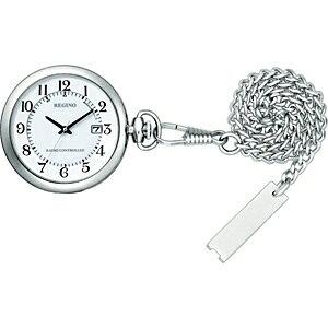 シチズン CITIZEN 懐中時計 レグノ(REGUNO) シルバー KL7-914-11 [電波自動受信機能有][KL791411]