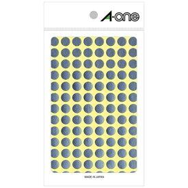 エーワン A-one カラーラベル 銀 07012 [8シート /104面 /光沢]【rb_mmmg】