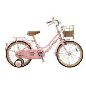 ブリヂストン BRIDGESTONE 18型 幼児用自転車 ハッチ(ピンク)HC182【組立商品につき返品不可】 【代金引換配送不可】