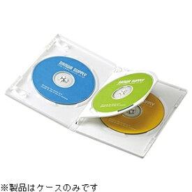 サンワサプライ SANWA SUPPLY Blu-ray/DVD/CD対応トールケース 3枚収納×3 ホワイト DVD-TN3-03W[DVDTN303W]