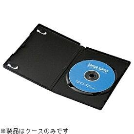 サンワサプライ SANWA SUPPLY Blu-ray/DVD/CD対応トールケース 1枚収納×30 ブラック DVD-TN1-30BK[DVDTN130BK]