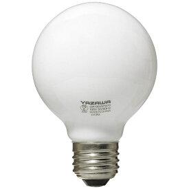 ヤザワ YAZAWA GW100V57W70 白熱球 ホワイト [E26 /電球色 /1個 /60W相当 /ボール電球形][GW100V57W70]