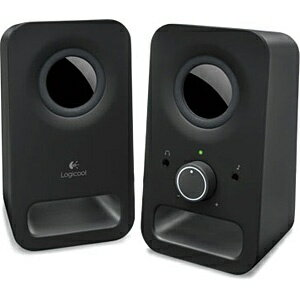 ロジクール PCスピーカー [φ3.5ミニプラグ] Logicool Multimedia Speakers Z150(ブラック) Z150BK