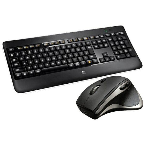 【送料無料】 ロジクール ワイヤレスキーボード[2.4GHz・USB]&マウス Logicool Wireless Performance Combo mx800(ブラック) MX800