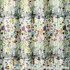 スミノエ SUMINOE ドレープカーテン プー/ガーデンプレイス(100×135cm/ピンク)【日本製】[M1106100X135]