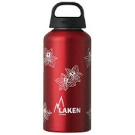 LAKEN ラーケン アルミ水筒 LAKEN クラシック・フローラ(0.6L /レッド) PL-IW331
