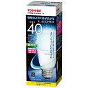 東芝 LED電球 (T形[全方向タイプ]・全光束485lm/昼白色相当・口金E26) LDT5N-G/S/40W[LDT5NGS40W]