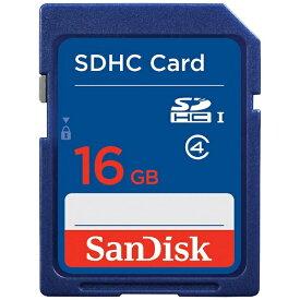 サンディスク SanDisk SDHCカード スタンダードシリーズ SDSDB-016G-J35U [16GB /Class4][SDSDB016GJ35U]