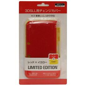 アクラス ビックカメラオリジナル 3DS LL用チェンジカバー レッド×イエロー【3DS LL】