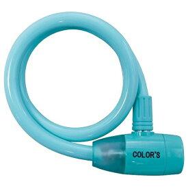 アサヒサイクル Asahi Cycle カラフルボディーワイヤー錠(シャーベットブルー/60cm) 02068