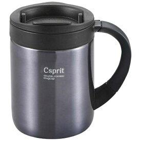 キャプテンスタッグ CAPTAIN STAG シーエスプリ ダブルステンレスマグカップ280(ブラック) M5370