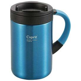 キャプテンスタッグ CAPTAIN STAG シーエスプリ ダブルステンレスマグカップ350(ライトブルー) M5378