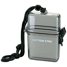 キャプテンスタッグ CAPTAIN STAG トレッキングアクセサリー 防水クリアケース(クリアブラック) M9358