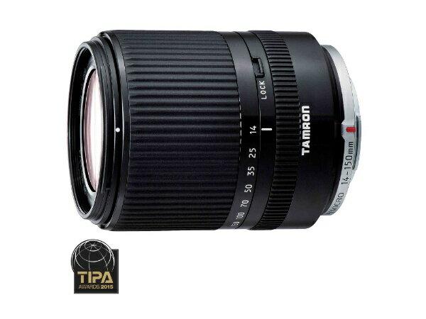 タムロン TAMRON カメラレンズ 14-150mm F/3.5-5.8 Di III Model C001【マイクロフォーサーズマウント】(ブラック)[C001BK]
