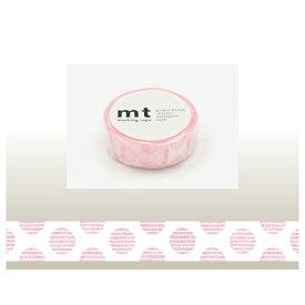 カモ井加工紙 KAMOI mt マスキングテープ(mt1P手描きドット・ピンク) MT01D225