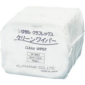 クラレ Kuraray クリーンワイパー 25cm×25cm FF390C (1ケース3000枚)