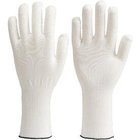 トラスコ中山 低発塵耐切創インナー手袋ロングM DPM926M